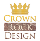Crown Rock Design - Web & Graphics logo